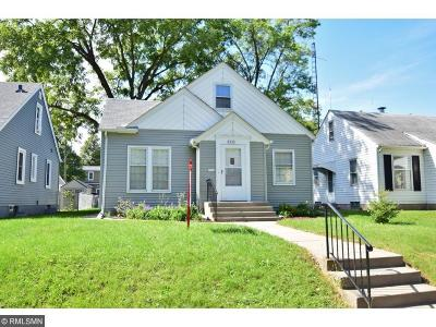 Minneapolis Single Family Home For Sale: 3210 Benjamin Street NE