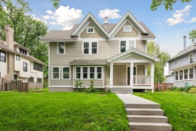 Minneapolis Single Family Home For Sale: 5026 Aldrich Avenue S
