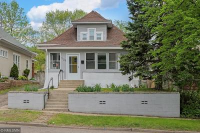 Saint Paul Single Family Home For Sale: 1125 Selby Avenue
