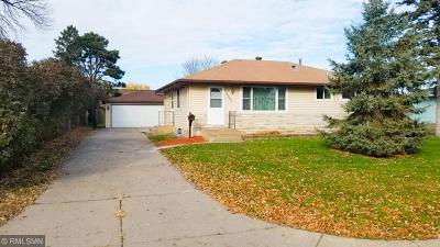 Brooklyn Center Single Family Home For Sale: 5312 Howe Lane