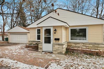 Crystal Single Family Home For Sale: 4516 Douglas Drive N