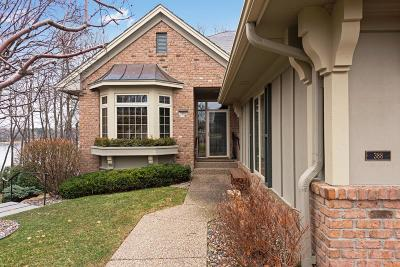 Wayzata Condo/Townhouse Contingent: 388 Waycliffe Drive N