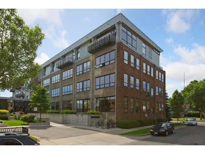 Minneapolis Condo/Townhouse For Sale: 1701 Madison Street NE #309