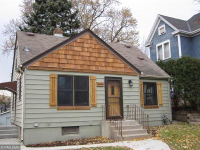Minneapolis Single Family Home For Sale: 4446 Pillsbury Avenue S