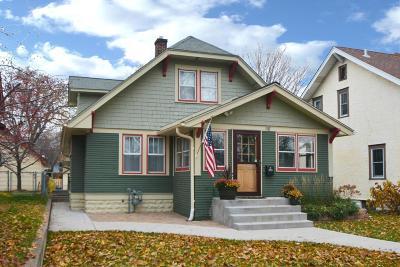 Saint Paul Single Family Home For Sale: 1147 Hawthorne Avenue E