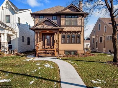 Minneapolis Single Family Home Contingent: 5337 Ewing Avenue S