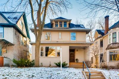 Saint Paul Single Family Home For Sale: 908 Goodrich Avenue