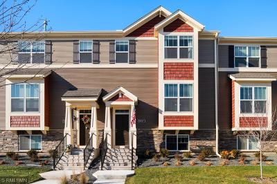 Maple Grove Condo/Townhouse For Sale: 8187 Central Park Way N