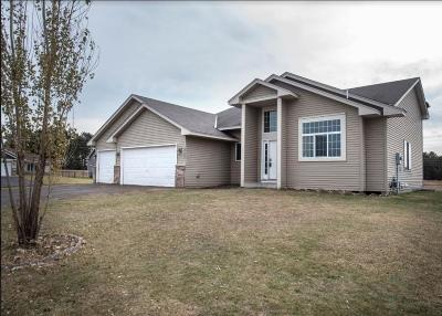 Isanti Single Family Home Contingent: 1101 Ironwood Avenue SW