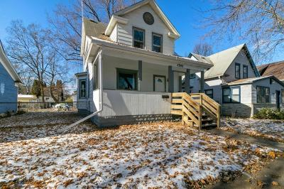 Minneapolis Single Family Home Contingent: 3940 37th Avenue S
