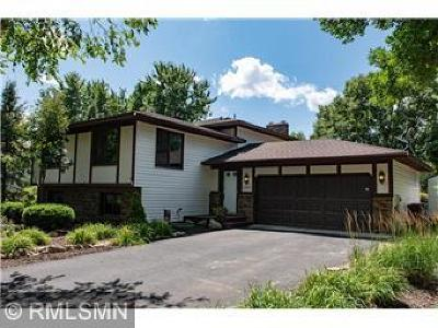 Maple Grove Single Family Home Contingent: 10857 95th Place N