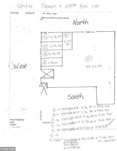 Brook Park Residential Lots & Land For Sale: Lot E 240 Avenue