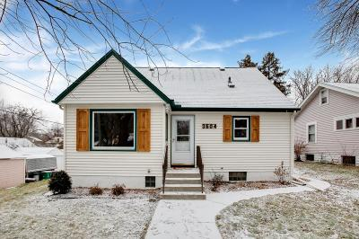 Robbinsdale Single Family Home Contingent: 3504 30th Avenue N