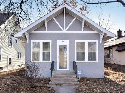 Minneapolis Single Family Home For Sale: 1611 44th Avenue N