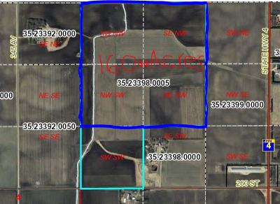 Stearns County Residential Lots & Land For Sale: Xxx 260th Street