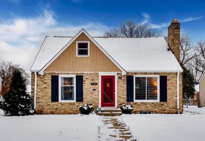 Saint Louis Park Single Family Home Contingent: 3205 Kentucky Avenue S