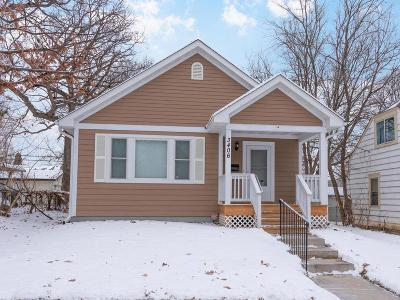 Minneapolis Single Family Home For Sale: 3406 Bryant Avenue N