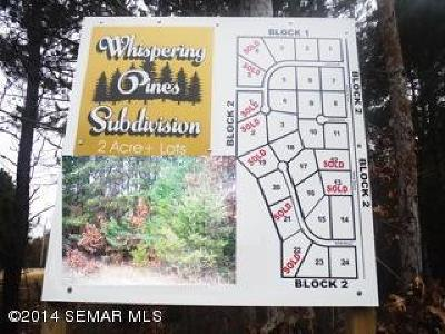 Wabasha Residential Lots & Land For Sale: L15 B2 647th Street