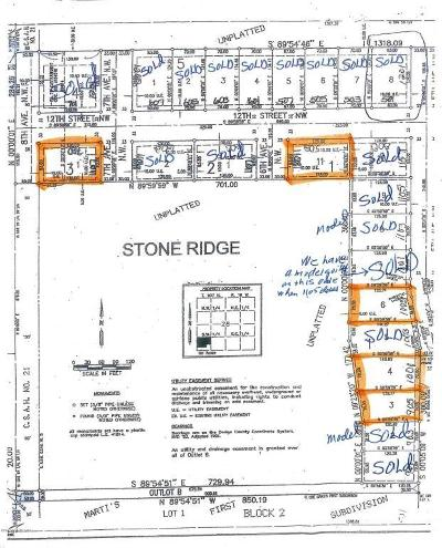Kasson Residential Lots & Land For Sale: 502 12th Street NW