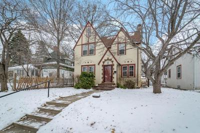 Minneapolis Single Family Home For Sale: 4809 3rd Avenue S
