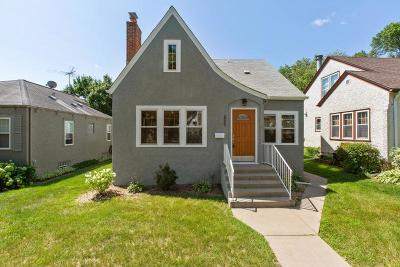 Minneapolis Single Family Home For Sale: 5242 15th Avenue S