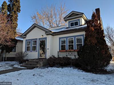 Minneapolis Single Family Home For Sale: 1614 Upton Avenue N