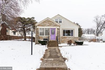 Minneapolis Single Family Home Contingent: 5229 39th Avenue S