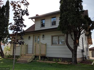 Hinckley Single Family Home For Sale: 406 Lawler Avenue S