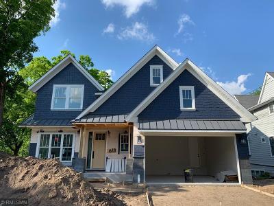Wayzata Single Family Home For Sale: 613 Gardner Street