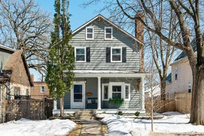 Minneapolis MN Single Family Home For Sale: $349,000