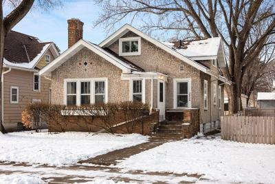 Minneapolis Single Family Home For Sale: 3824 38th Avenue S