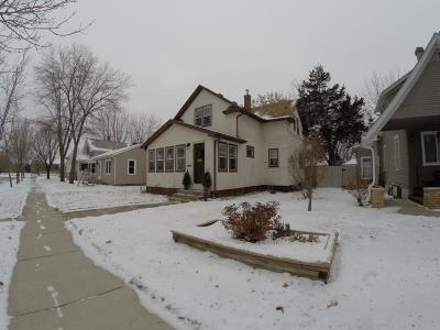 Saint Cloud MN Single Family Home For Sale: $128,000