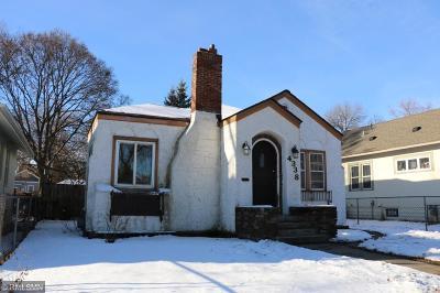 Minneapolis Single Family Home For Sale: 4338 5th Avenue S