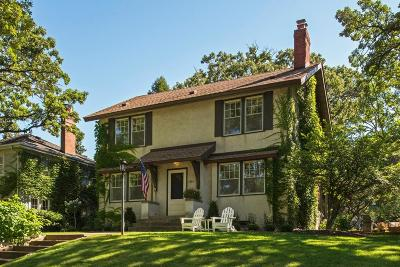 Minneapolis Single Family Home For Sale: 1384 W Minnehaha Parkway