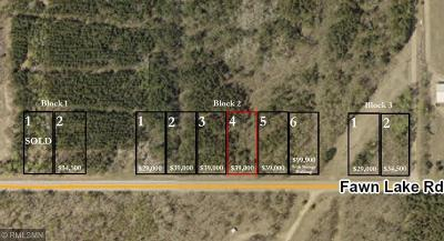 Crosslake Residential Lots & Land For Sale: Lot 6 Fawn Lake Road