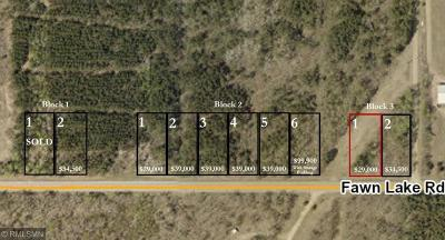 Crosslake Residential Lots & Land For Sale: Lot 9 Fawn Lake Road