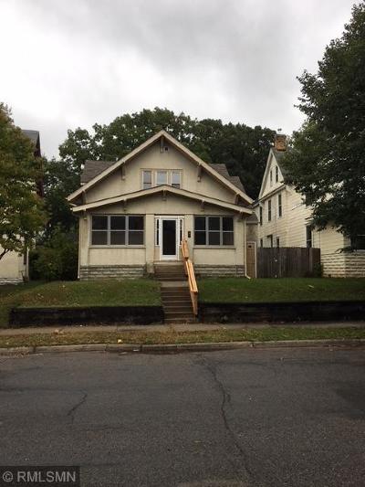 Minneapolis Multi Family Home For Sale: 1634 Hillside Avenue N