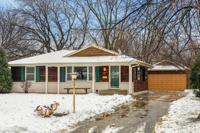 Richfield Single Family Home For Sale: 6911 Irving Avenue S