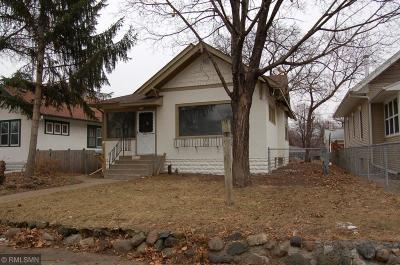 Minneapolis Single Family Home For Sale: 3531 24th Avenue S