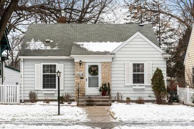 Minneapolis Single Family Home Contingent: 5018 30th Avenue S