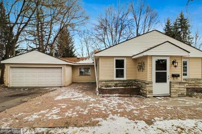 Crystal MN Single Family Home Contingent: $169,900