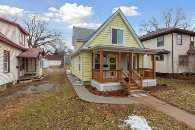 Minneapolis Single Family Home Contingent: 2825 Lincoln Street NE