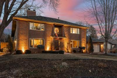 Edina Single Family Home For Sale: 7714 Tanglewood Court