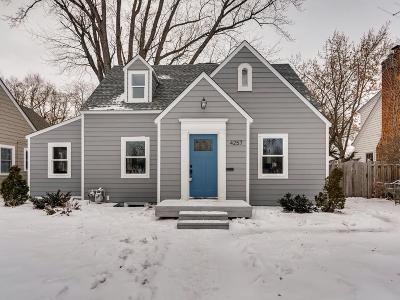 Robbinsdale Single Family Home Sold: 4257 York Avenue N