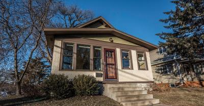 Minneapolis Single Family Home For Sale: 4158 18th Avenue S