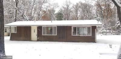 Isanti Single Family Home For Sale: 2242 294th Avenue NW