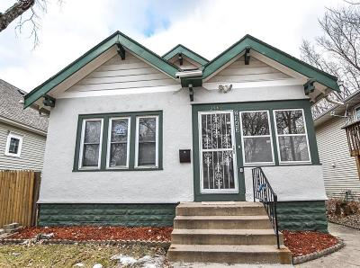 Minneapolis Single Family Home Contingent: 2943 Colfax Avenue N
