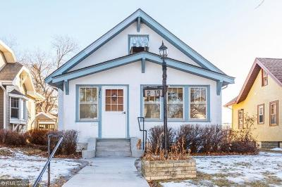 Minneapolis Single Family Home For Sale: 2219 McKinley Street NE