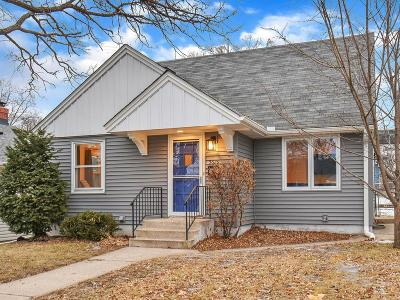 Minneapolis MN Single Family Home For Sale: $474,900