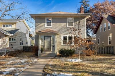 Minneapolis Single Family Home For Sale: 4941 Columbus Avenue